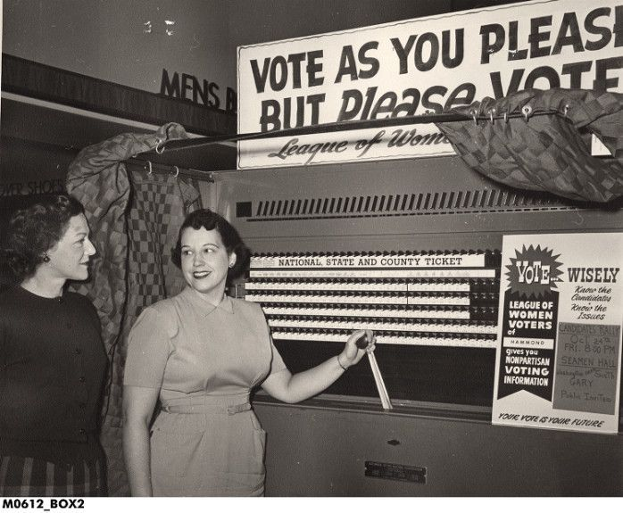 Image result for vintage voting booth | Women Quotes ...