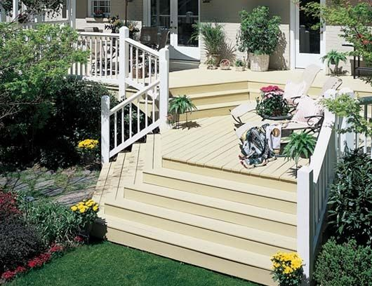 Flood Wood Care Solid Stain Can Brighten Your Backyard While Adding A Layer Of Protection Between The Wood And The Elements Wood Wood Projects Deck