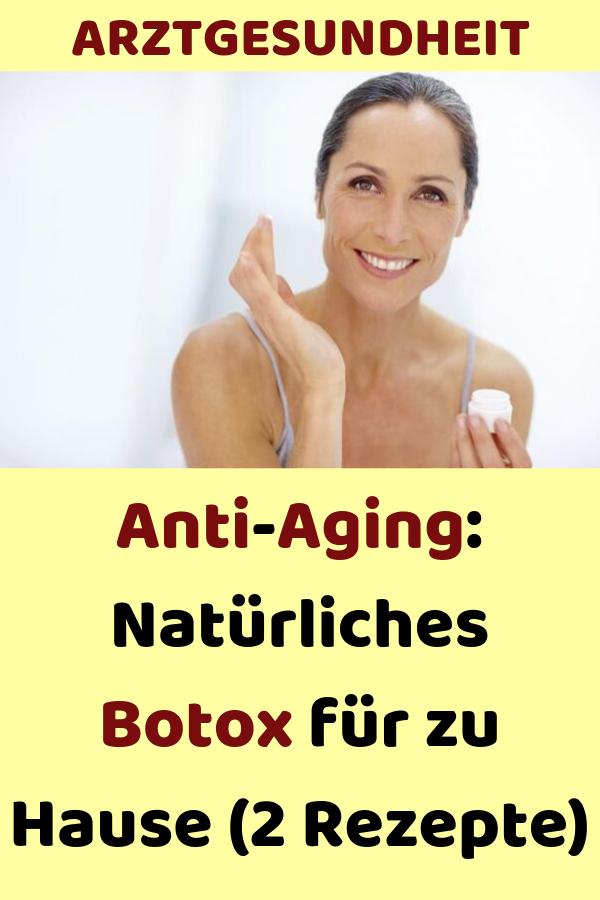 Anti-Aging: Natürliches Botox für zu Hause (2 Rezepte) #ernährung #gesund #glücklich #health #abnehmen #gesundheit #skintreatments