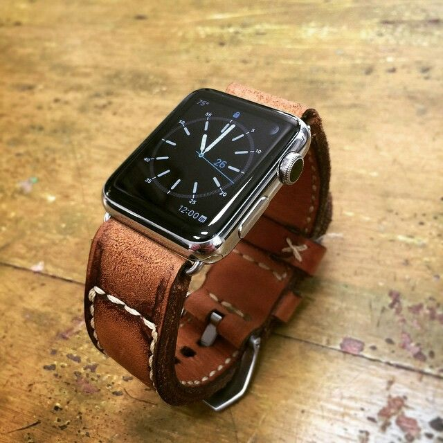 Caitlin2 serie for Apple Watch, #applewatchstrap from Gunny Straps