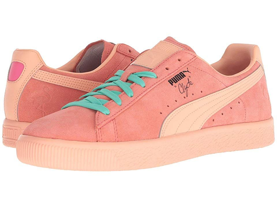 finest selection 278a9 304ea PUMA Clyde South Beach (Shell Pink) Men's Shoes. Bring an ...