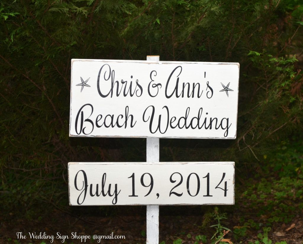 Welcome Sign Decor Custom All Handpainted Wedding Welcome Sign Large Directional Rustic Wood Inspiration