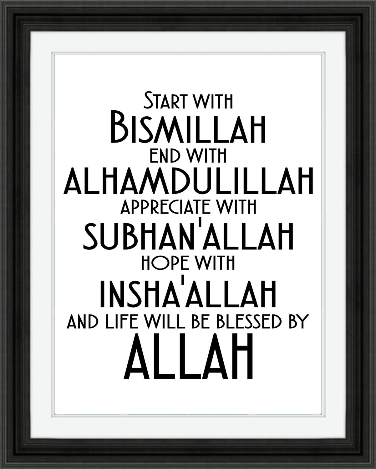 Downloading Arabic Quotes: Image Result For Bismillah And Alhamdulillah Activity For