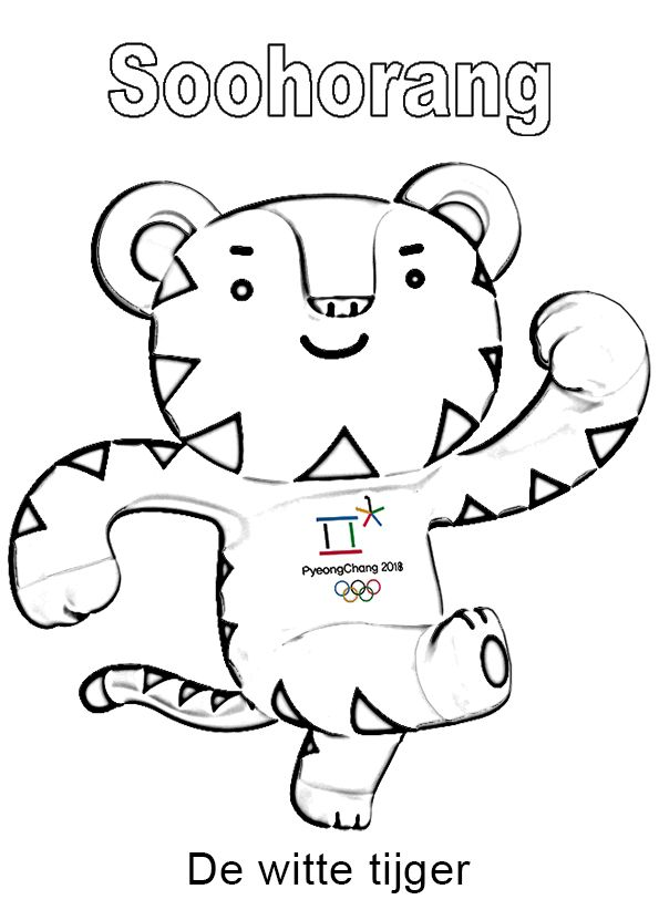 soohorang mascotte pyeongchang olympische winterspelen