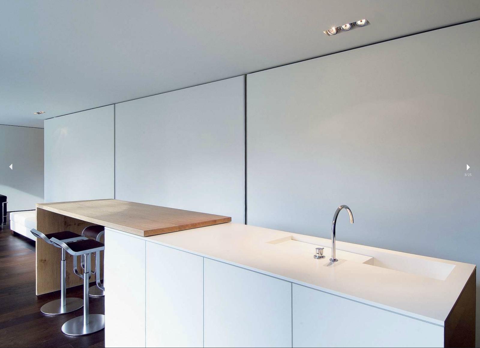 Fantastisch Küchen Mit Schienenbeleuchtung Zeitgenössisch - Küche ...