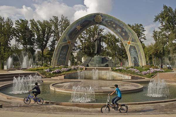 Rudaki Park Dushanbe Tajikistan Dushanbe Tajikistan Places Around The World
