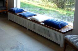 heizk rper verkleidung sitzbank k che pinterest. Black Bedroom Furniture Sets. Home Design Ideas