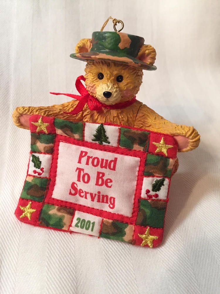 American Greetings Operation Santa Christmas Ornament HAPPY HOLIDAY SOLDIER  NIB 18100747329   eBay - American Greetings Operation Santa Christmas Ornament HAPPY HOLIDAY