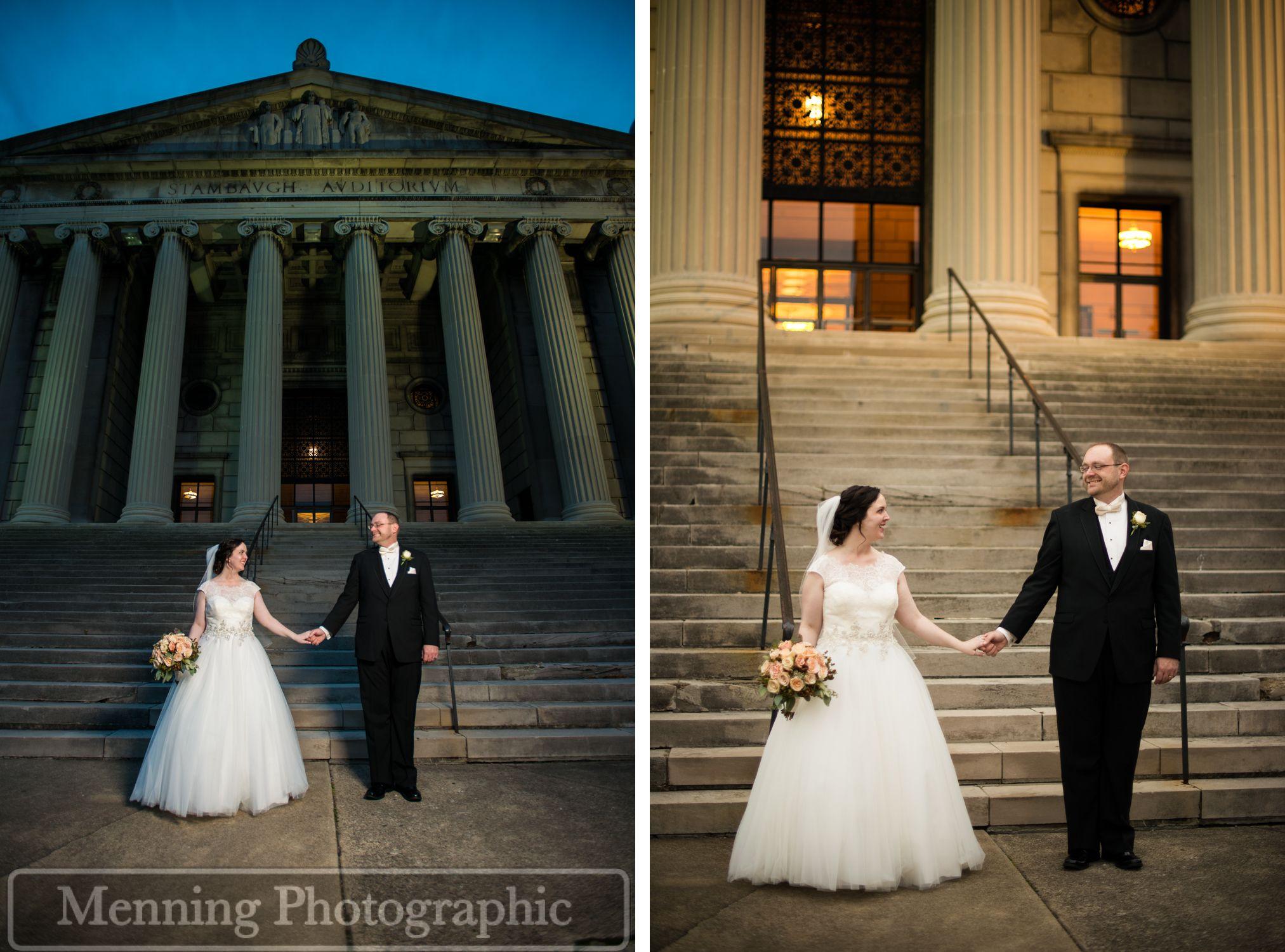 Jennifer & Chris Ohio wedding venues, Wedding