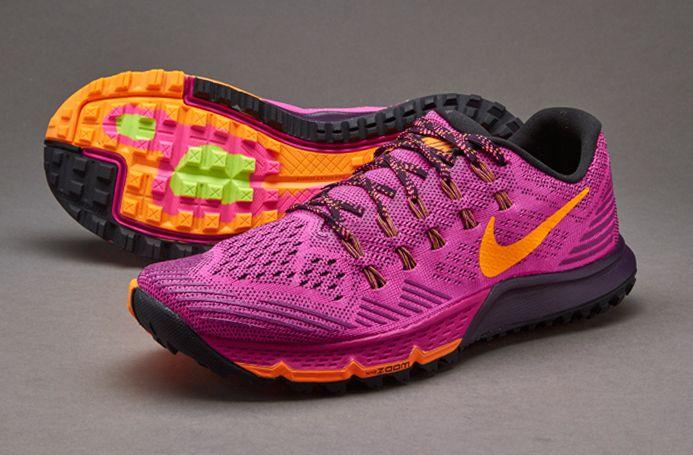 Nike Womens Air Zoom Terra Kiger 3 - Womens Shoes - Fuchsia Flash/Bright  Citrus/ Purple