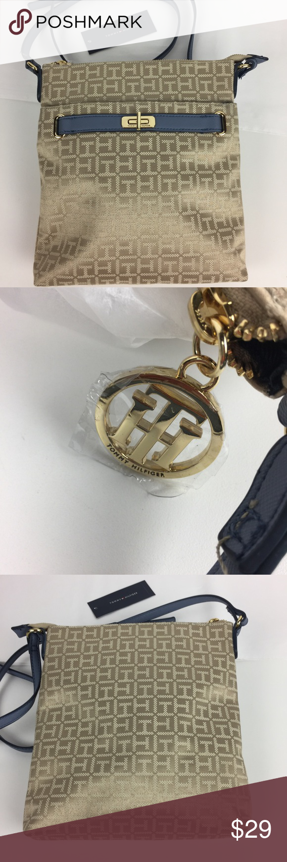 Spotted while shopping on Poshmark: Tommy Hilfiger Helen Monogram Jacquard Crossbody! #poshmark #fashion #shopping #style #Tommy Hilfiger #Handbags