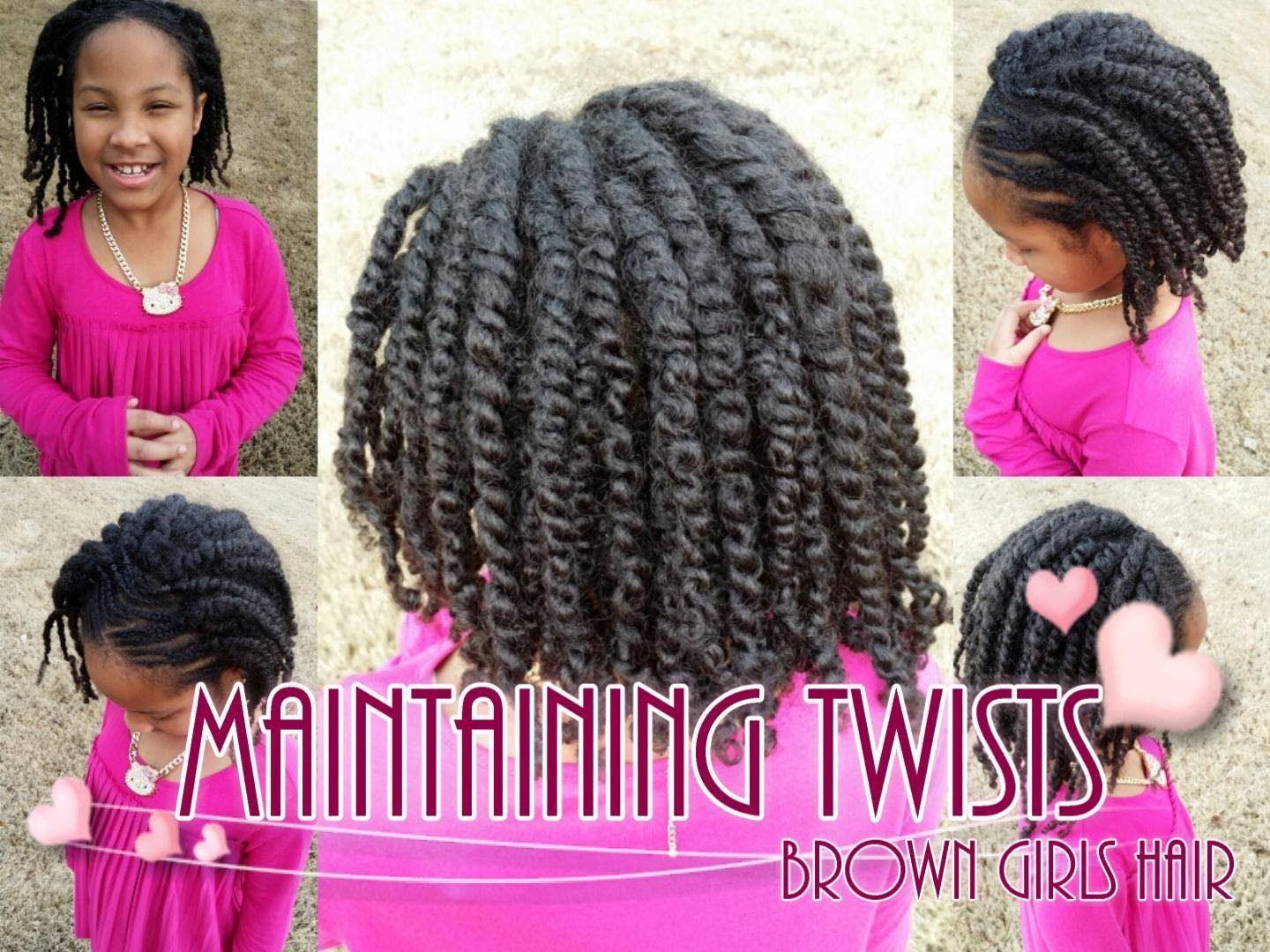 How To Maintain Twists on Natural Girls Hair | Natural Black Hair ...