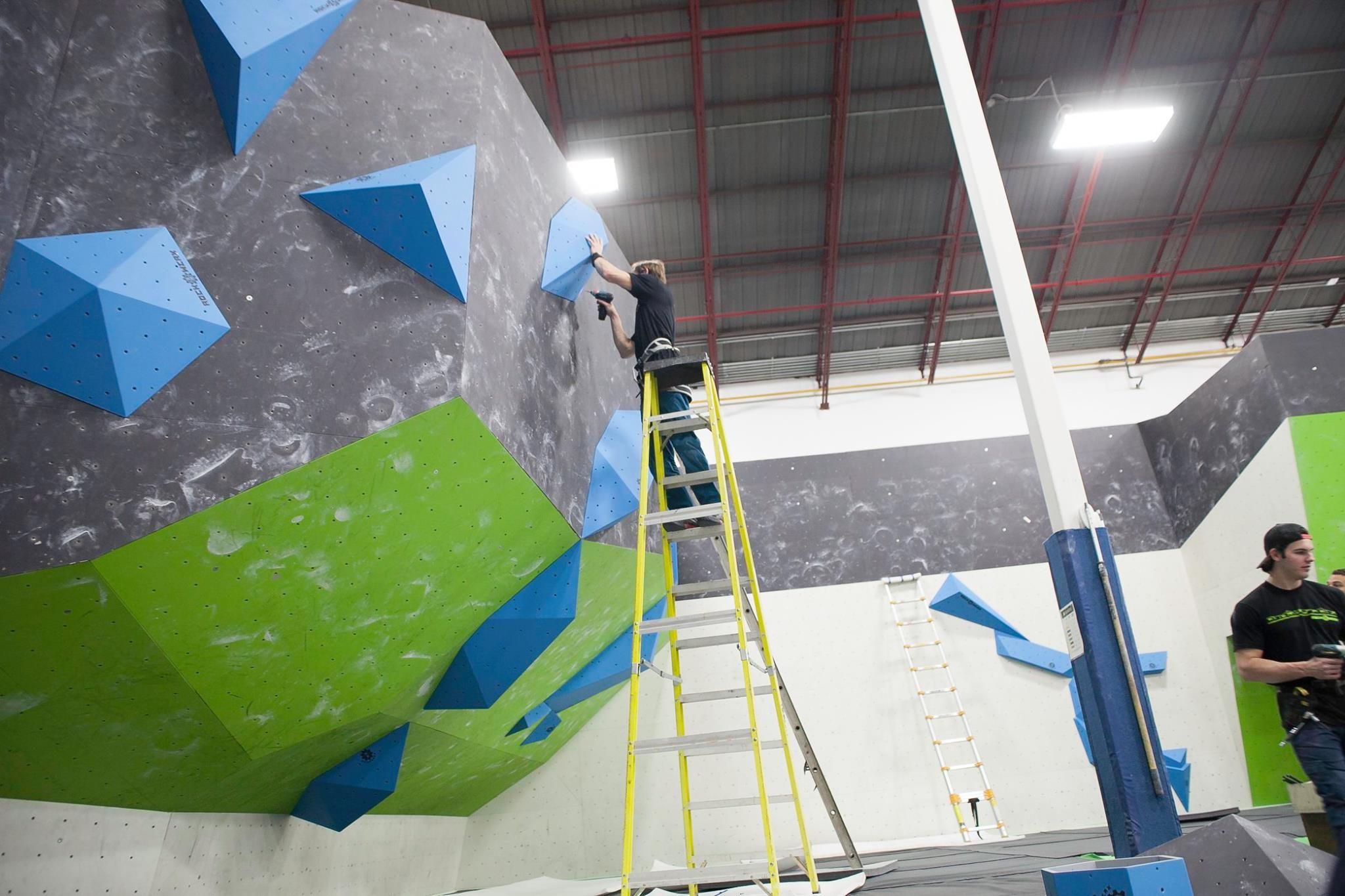 Bouldering Wall Climbing Wall Pin by sam