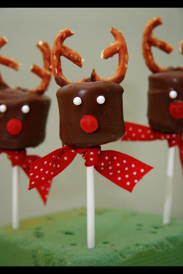 Bombones Como Renos Snack Navidenos Recetas De Navidad Postres Navidenos