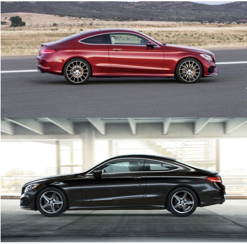 The Baby Of The Family Which Color Do You Like Best On Her 1 Designo Cardinal Red Metallic 2 Black Mercedesbenz Cclass Mercedes Benz Benz Mercedes