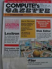Vintage Compute!'s Gazette Feb1986 magazine for Commodore 64 and 128