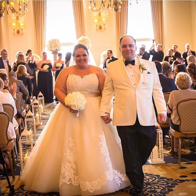 Kleinfeld Bridal On Instagram Plus Size Wedding Gown