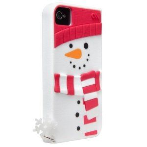 Snowman - Silicone iPhone 4 / 4S Case