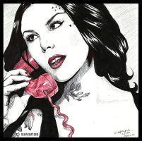 Red Phone by SavanasArt