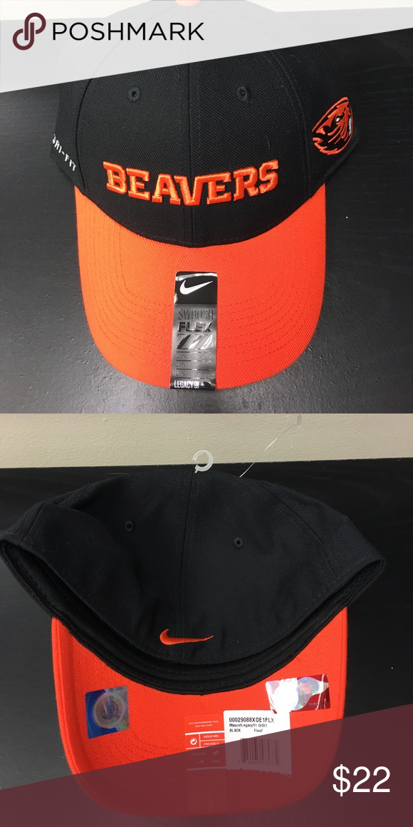 Oregon State Beavers Nike Dri-Fit Flex-Fit Hat Oregon State Beavers Nike Dri -Fit Legacy91 Flex-Fit Hat. Save money by bundling with other items. 238a72bfc293