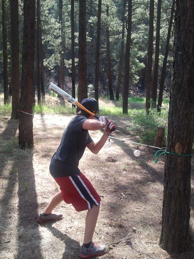 Baseball Swing Line