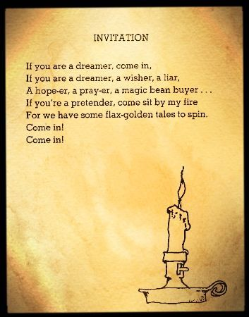 Shel Silverstein Invitation Poster Invitationsweddorg