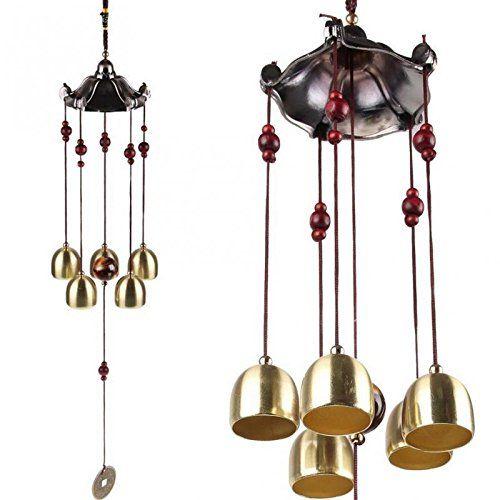 Carrillón De Viento Con Campanas De Metal Feng Shui Puedes Conseguirlo En Http Adivinacion Esoterik A Com Producto Carr Campanas De Viento Feng Shui Metal