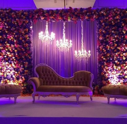 Stage Decoration For Wedding | Simple Wedding Stage Decoration Ideas