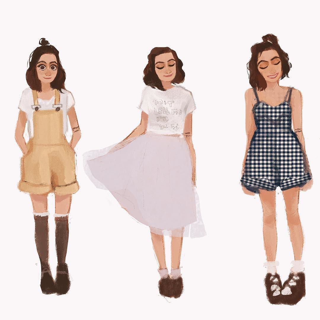 1ba18854062 Omg why are your outfits always so cute Dodie Alsooo I'll be in LA for  vidcon the next week so there might be less art posted but if any of you  are ...