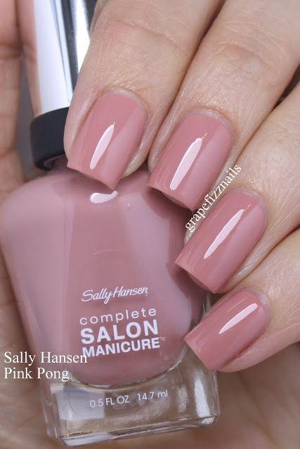 Sally Hansen Spring 2017 Grape Fizz Nails Manicure
