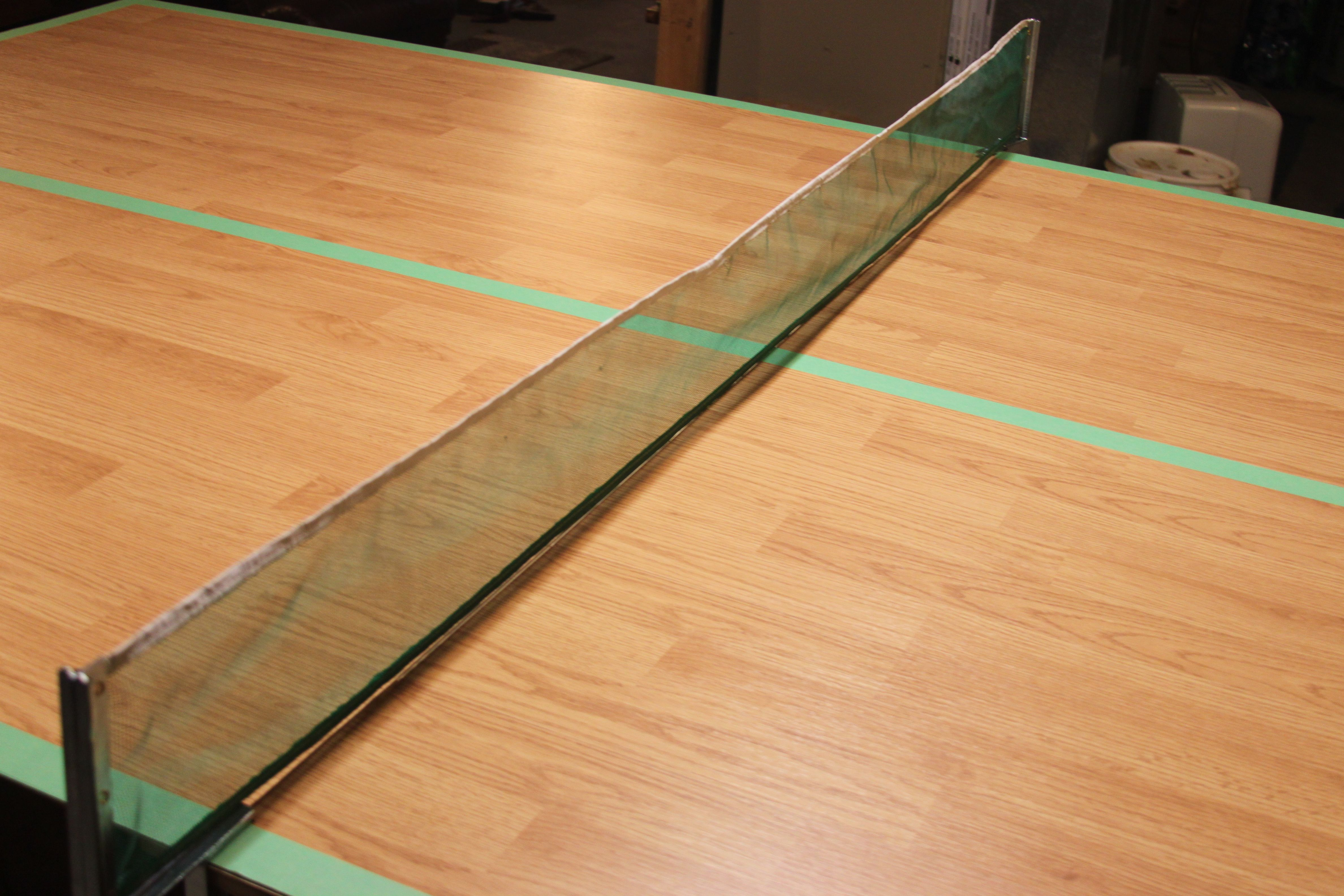Click Laminate Flooring Ping Pong Table Conversion Cover For Pool Table.  Great Way To Use