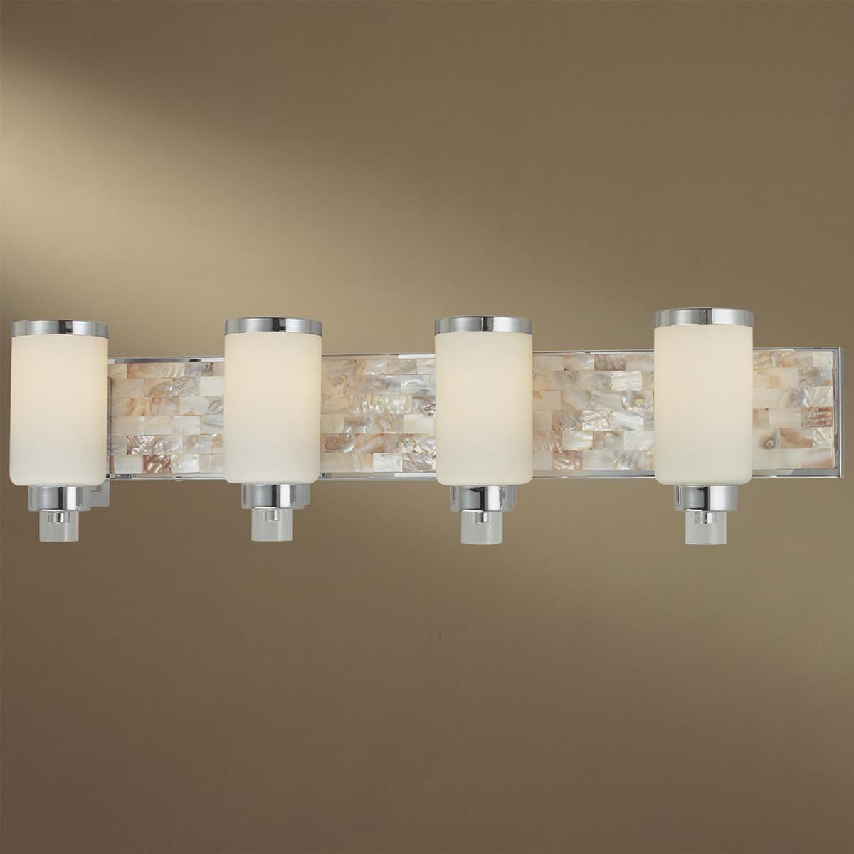 tropical bathroom lighting. Mother Of Pearl Bath Light - 4 Tropical Bathroom Lighting