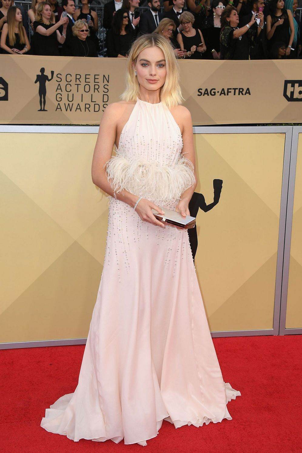 Margot Robbie at the 24th Annual Screen Actors Guild (SAG