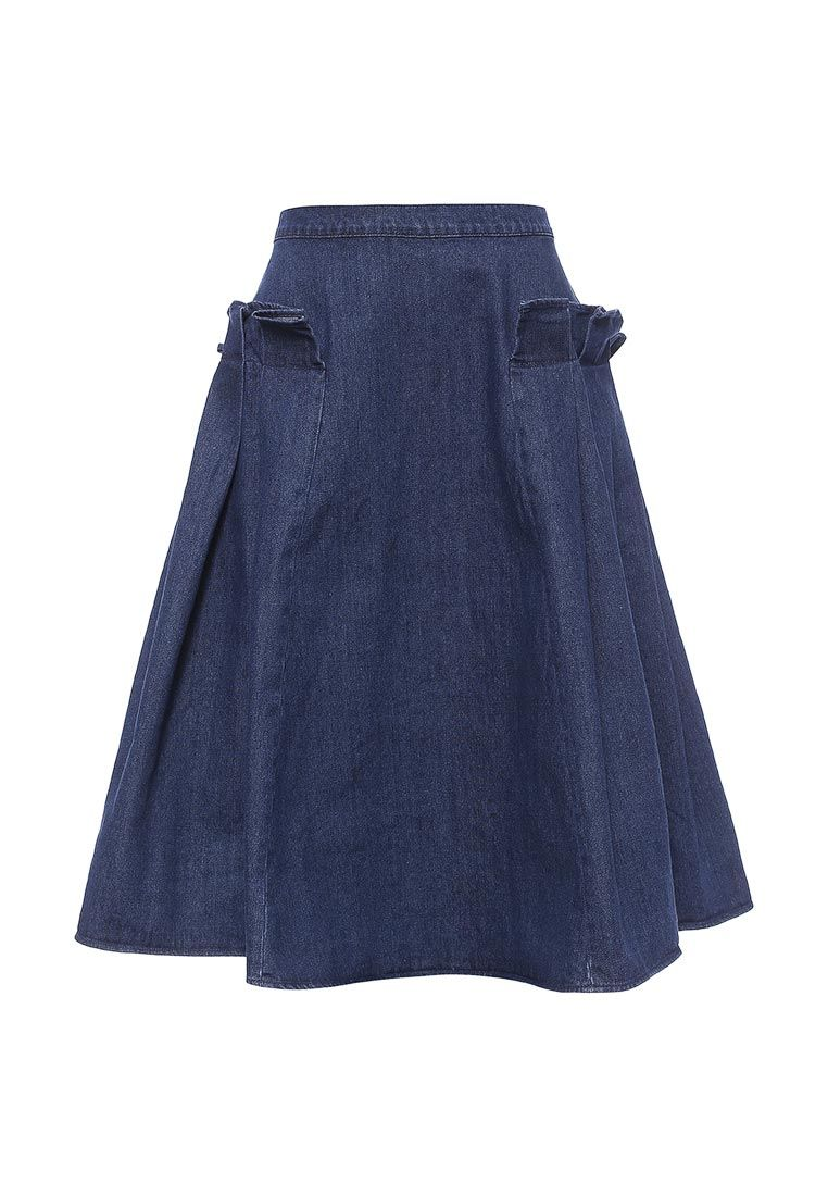 c2b517e24be Юбка Lost Ink DENIM FRILL MIDI купить за 931 грн LO019EWNTC46 в  интернет-магазине Lamoda.ua