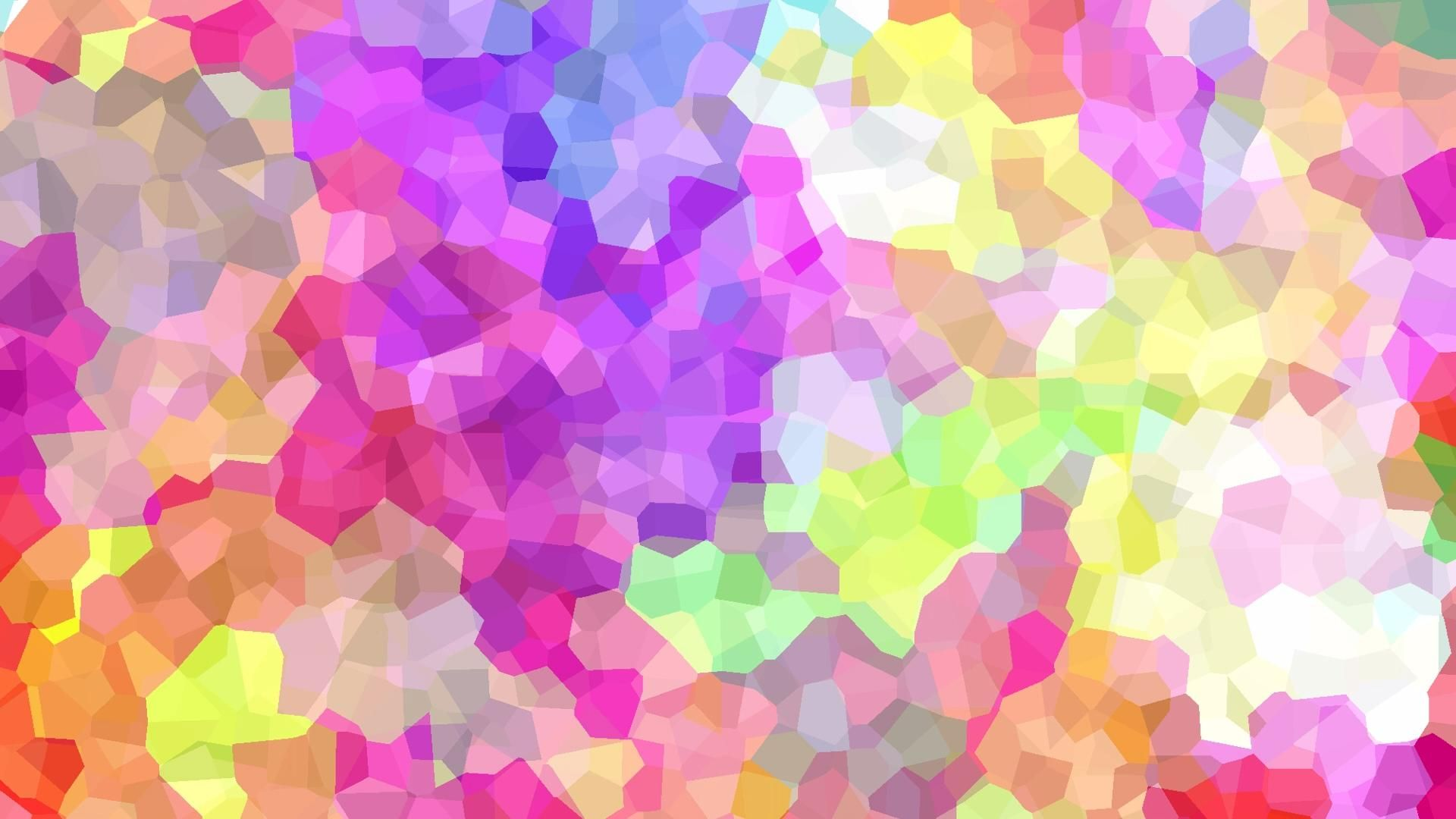Free Loop Background Video - Colourful Geometric Shapes