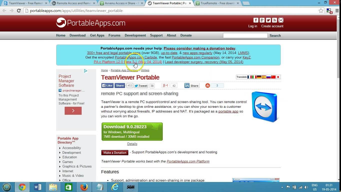 Top 5 Best Free Online Remote Desktop Access Software