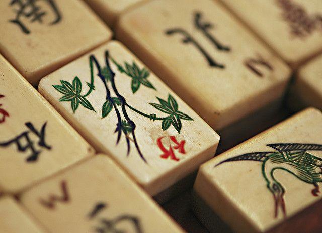 Shall we play Mahjong? by dphock, via Flickr