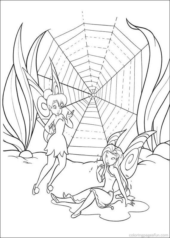 Tinker Bell Coloring Pages | Tinkerbell Coloring Pages 9 - Free ...