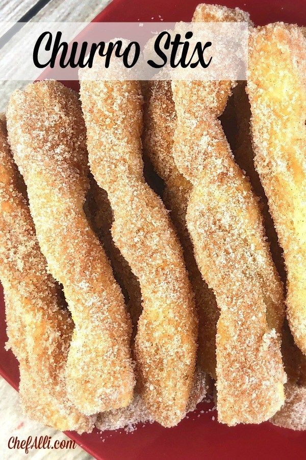 Air Fryer Churro Stix Recipe (With images) Churros