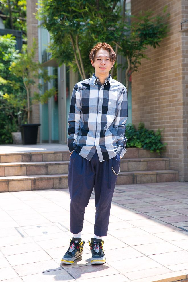 OLD NAVY: 岩井 拳士朗 | Fashionsnap.com
