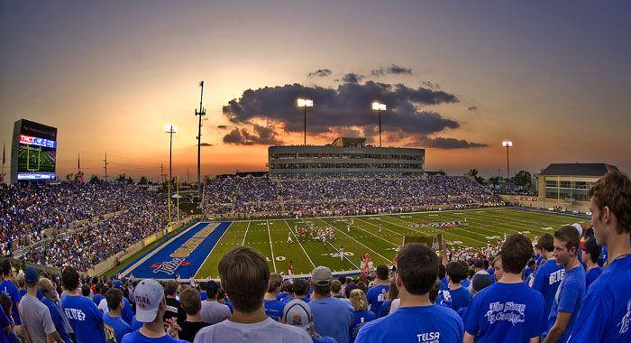 Skelly Field @ Chapman Stadium, University of Tulsa ...