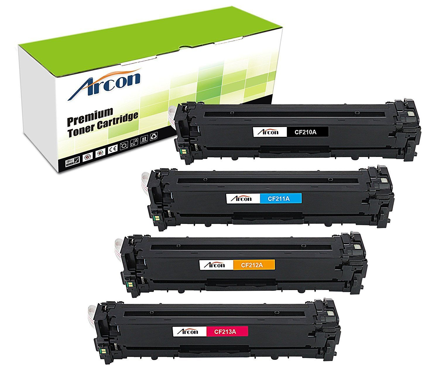 Compatible HP 131A CF211A Cyan Toner for HP Pro 200 M251NW M276NW LaserJets