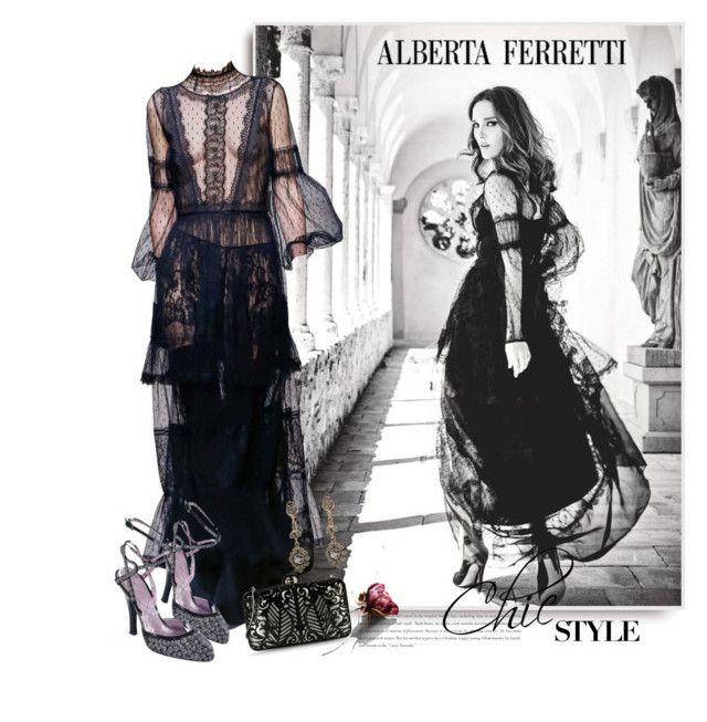 """Alberta Ferretti SS 2015"" by sella103 ❤ liked on Polyvore"