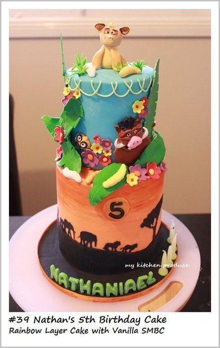 Lion King Theme Cake By LindaKurniawanMKP