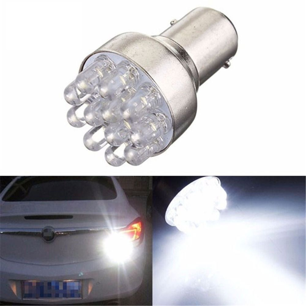 Hot 12 Led 1157 Bay15d 2397 7528 3496 P21 5w Car Turn Signal Light Instrument Bulb Indicator Brake Lamp Lamp Bulb Lamp Light Bulb