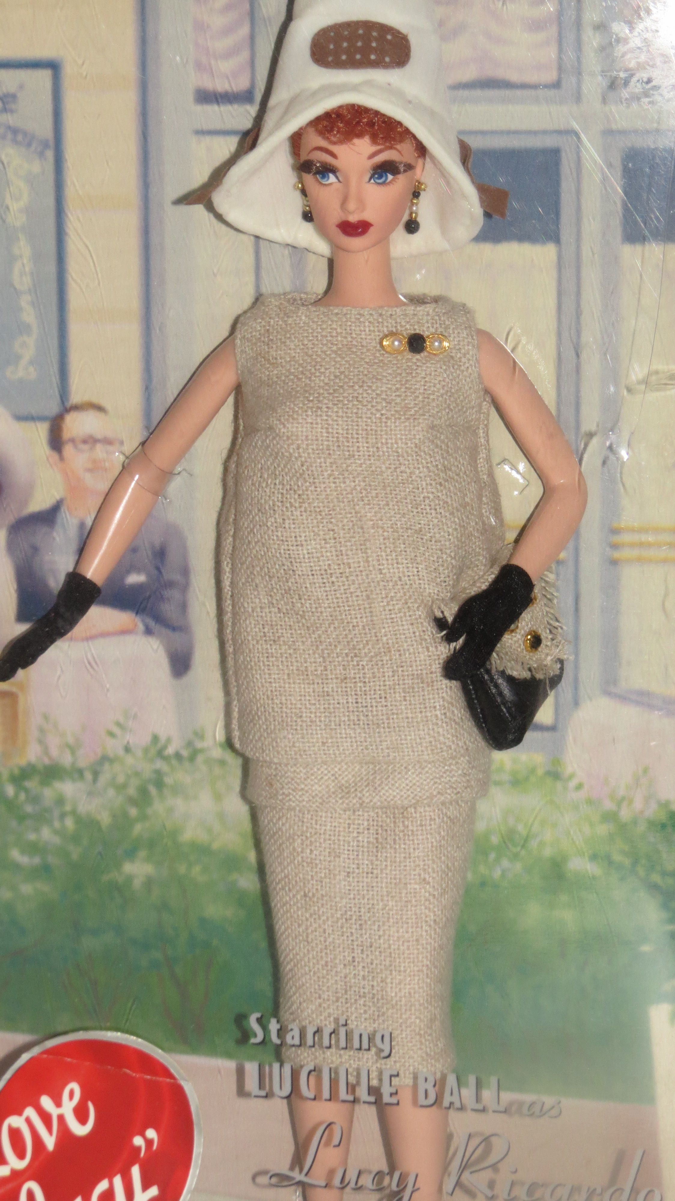 I love Lucy. (Lucy gets a paris gown) | BarbieFamily | Pinterest ...