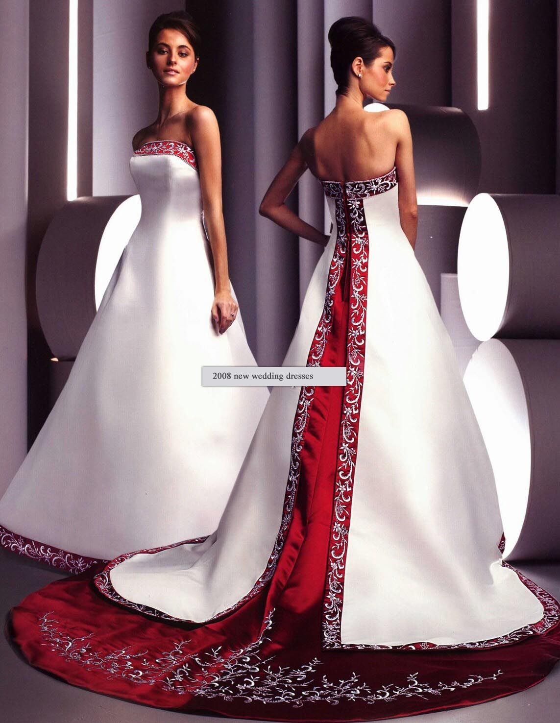 I Wouldnt Wear This But Its Soooo Pretty In A Different Way Love It Red Wedding Dresses Red Wedding Gowns White Wedding Dresses [ 1476 x 1143 Pixel ]