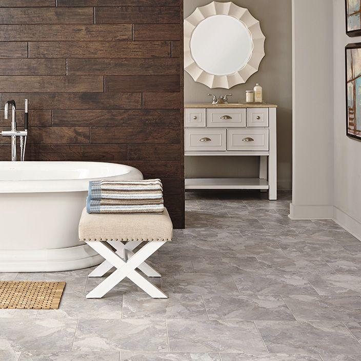 Best Flooring For Your Bathroom Luxury Vinyl Tile Flooring