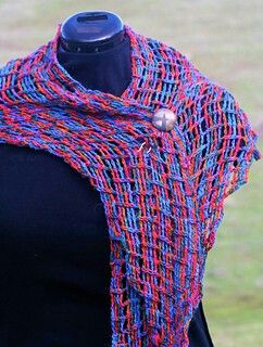 Converse Shawl, Crochet version by Linda Dean