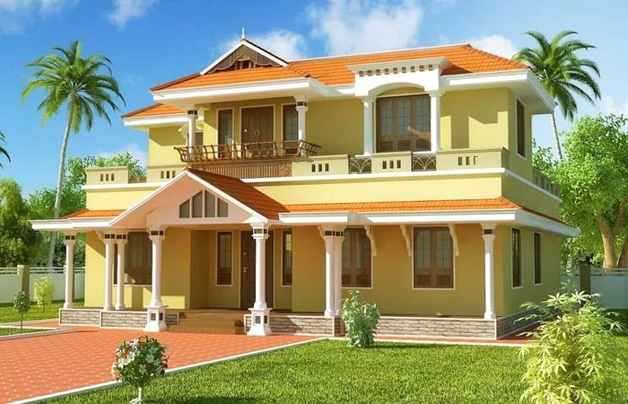 House Designs Kerala 3 Bedroom Plans Most Beautiful Houses In 4 Badroom Kerala House Normal In Kerala House Design House Arch Design Small House Front Design